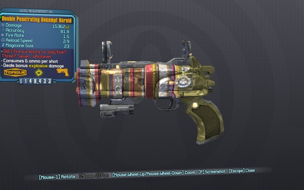 Gun Shift Codes Borderlands 2 Rare - Year of Clean Water