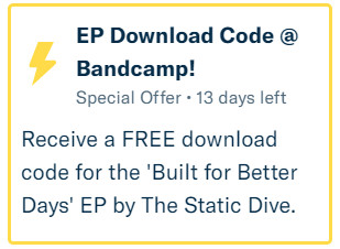 Free download of 'Built for Better Days' EP 8