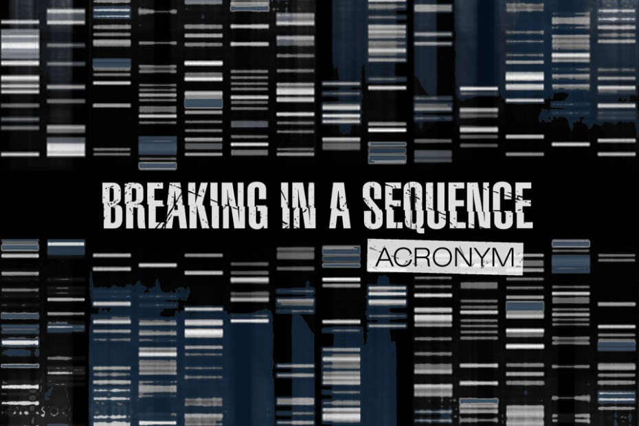 breaking in a sequence