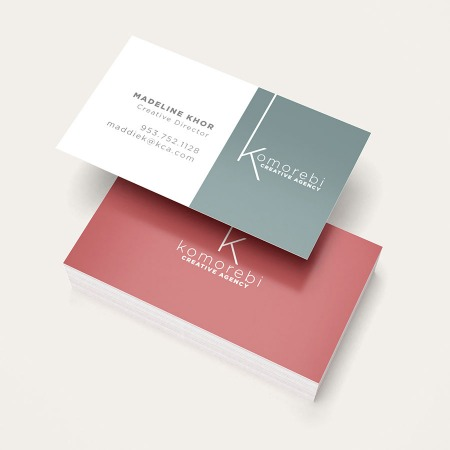 Business Cards In Standard Sizes Free Print Design Templates Uprinting