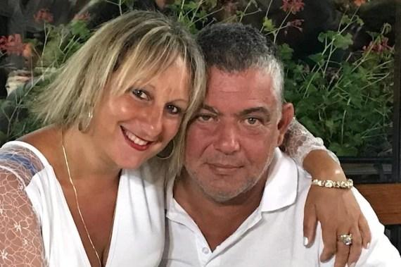 Sonia Lattari e il marito