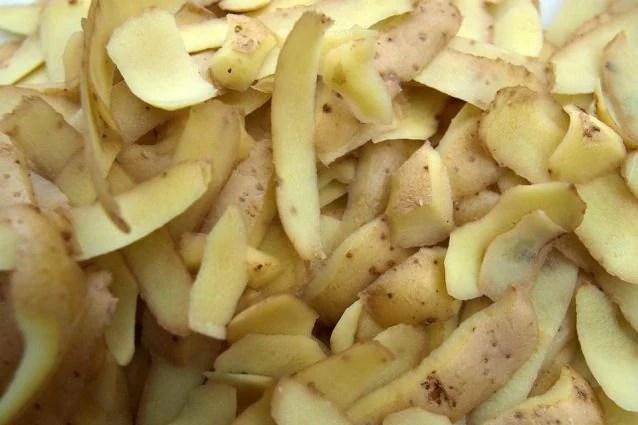 Risultati immagini per bucce di patate