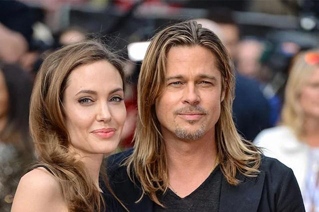 la Jolie e Pitt ai tempi della loro storia