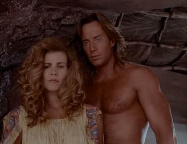 Con Kevin Sorbo in Hercules