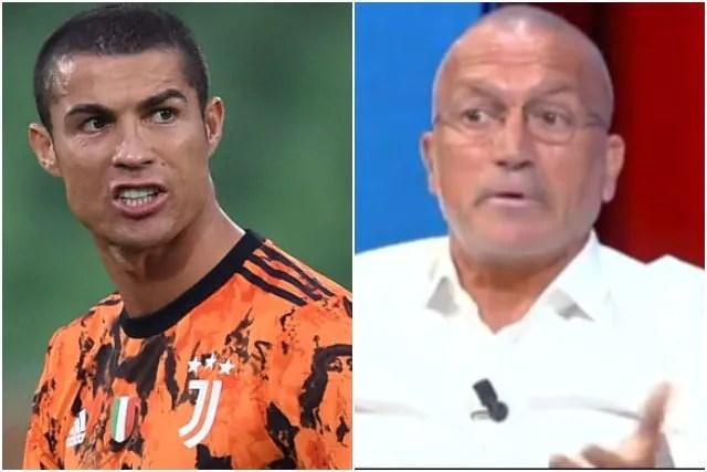 Pasquale Bruno: Cristiano Ronaldo ignorante. In Italia da 2 anni, non parla la nostra lingua