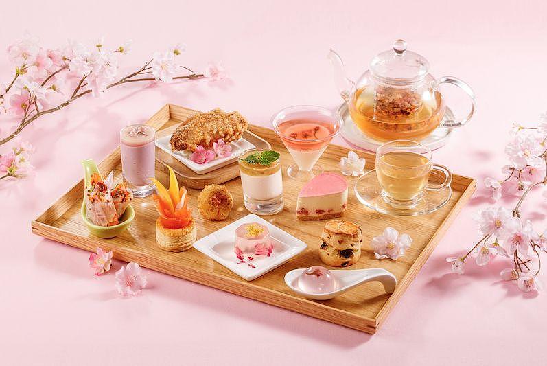 【2019春季下午茶】Park café「櫻味春日」「夢幻粉櫻」下午茶自助餐 | Toby