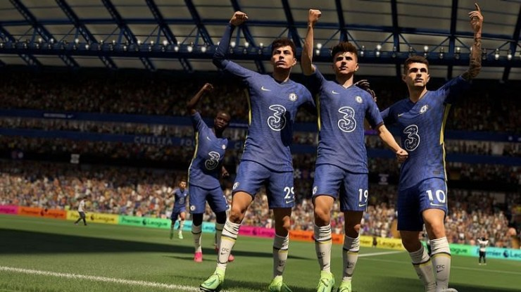 FIFA 22 will be available for PlayStation, Xbox and PC, both next and last-gen. Image via EA