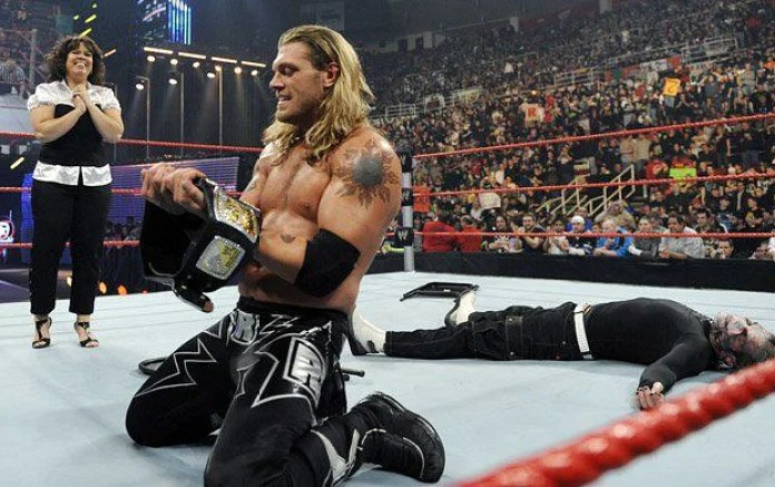 Image result for edge royal rumble 2009 championship