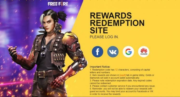 Free Fire Latest Redeem Codes: How to get exclusive rewards using redeem  code?