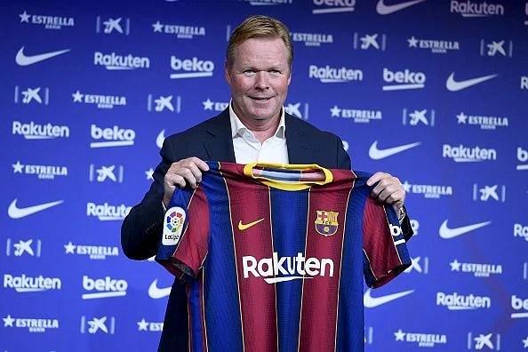 Koeman at Barcelona