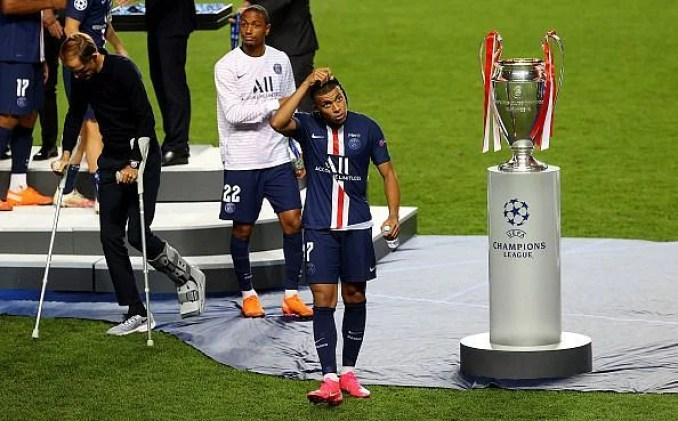Kylian Mbappe failed to win the Champions League