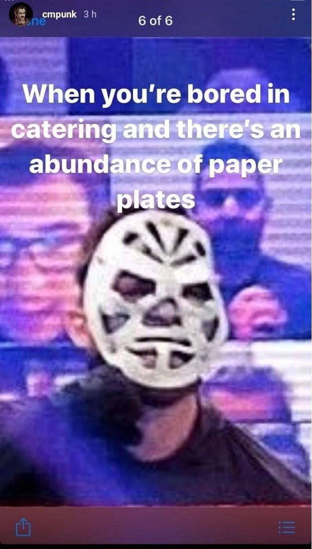 CM Punk takes a shot at RETRIBUTION