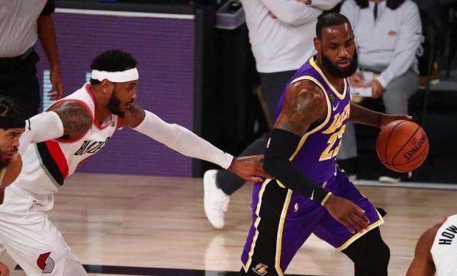 Los Angeles Lakers v Portland Trail Blazers - Game Three