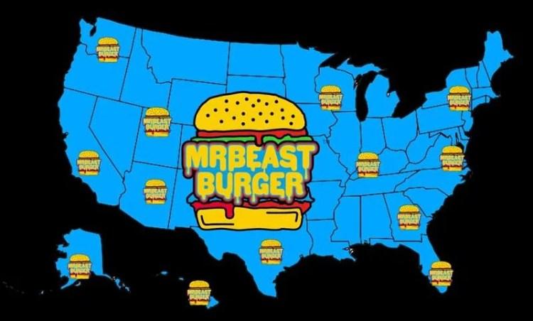 """MrBeast opens """"Mr Beast Burger"""" restaurant that pays ..."""