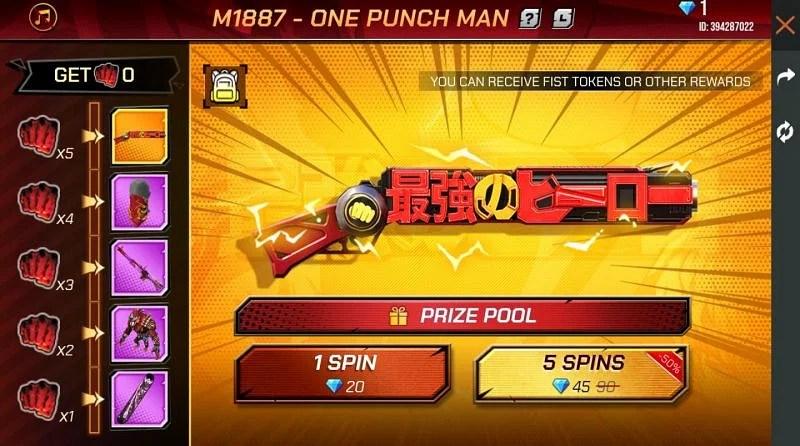Cómo conseguir M1887 - One Punch Man