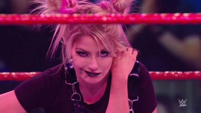 Watch: A possessed Alexa Bliss defeats Asuka in a spooky match on WWE RAW