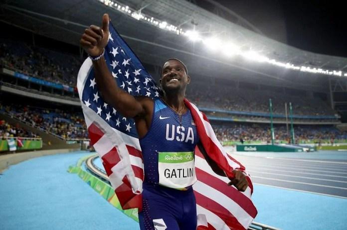 Justlin Gatlin at the 2016 Rio Olympics