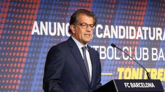 Barcelona presidential candidate Tony Freixa (image courtesy: Marca)