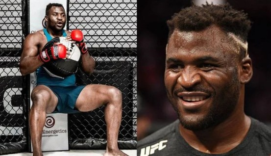 Francis Ngannou noticed him practicing the same move in two episodes of UFC Embedded