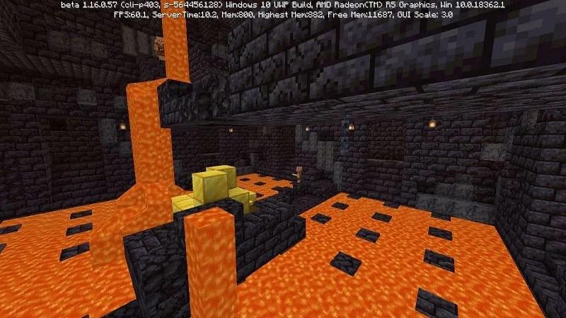 Shown: The Treasure Room of the Bastion Remnants (Image via Mojang)