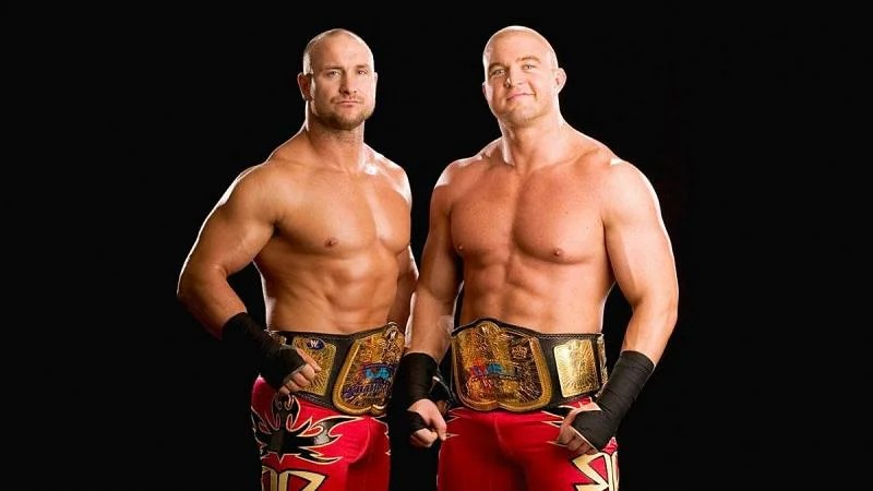 The Basham Brothers held the WWE Tag Team titles on two occasions.