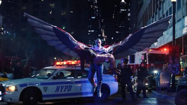 The new Cap can fly - The Falcon and The Winter Soldier Episode 6 (Image via Marvel)