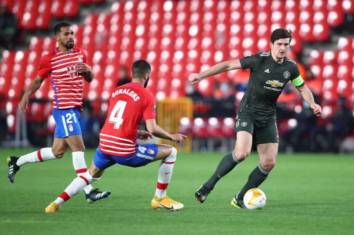 Granada CF v Manchester United - UEFA Europa League Quarter Final: Leg One