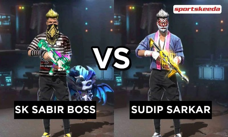 SK Sabir Boss vs Sudip Sarkar: Who has better Free Fire stats in April 2021?