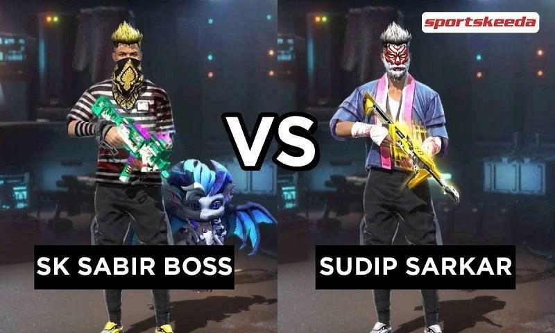SK Sabir Boss vs Sudip Sarkar: Who has better Free Fire stats in April 2021?