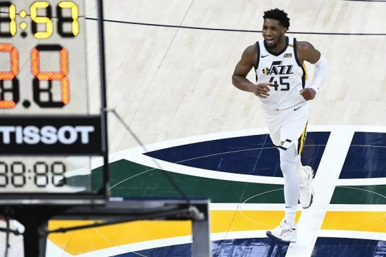 Donovan Mitchell # 45 from Utah Jazz
