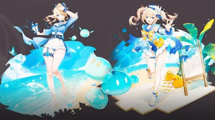 Genshin Impact date and details of Summer Island Adventure, Jean's outfit update, Dandelion of the Sea Breeze Barbara, Summer Glow 1.6