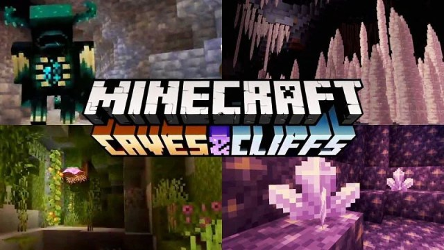 Official release date of Minecraft Caves & Cliffs Update Part 1 has been  announced