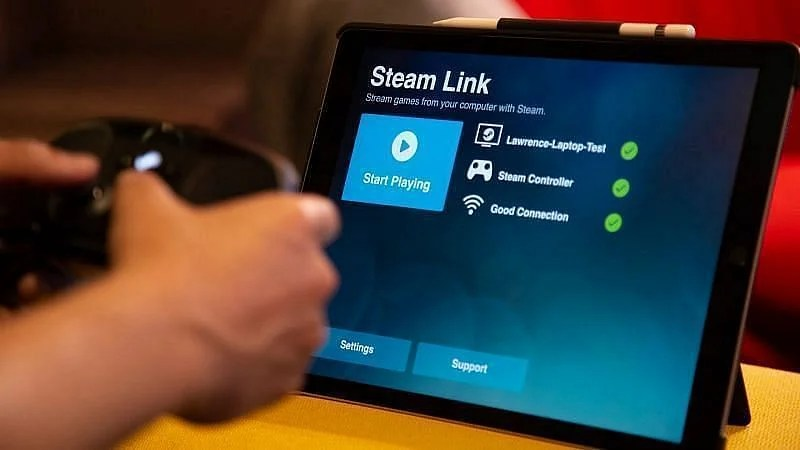 Players can use Steam Link to run GTA 5 on Android smartphones (Image via 9to5Mac)