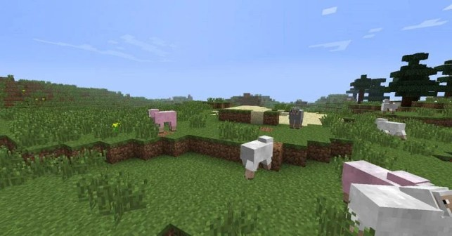 Minecraft Sheep (pictured by Planet Minecraft)