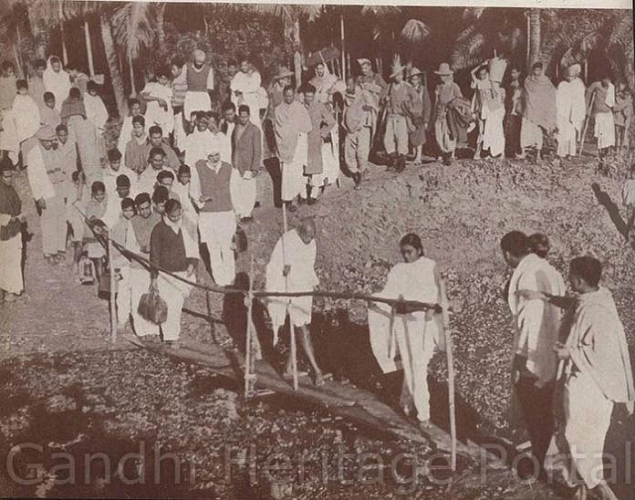নোয়াখালী দাঙ্গা ও গান্ধী