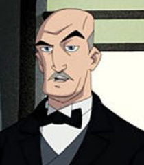 Voice Of Alfred Pennyworth The Batman Show Behind