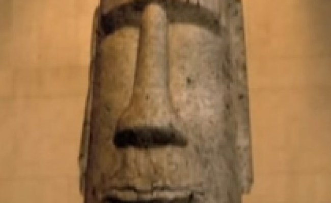Easter Island Head Voice Night At The Museum Battle Of