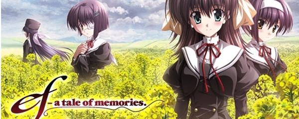 Resultado de imagem para Ef a tale of memories banner anime