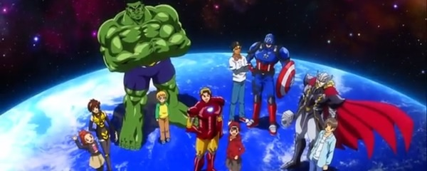Image result for Marvel's Avengers: DISK Wars