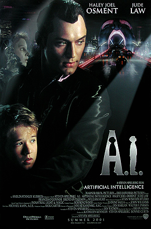 A.I. Artificial Intelligence, dir. Stanley Kubrick, 2001