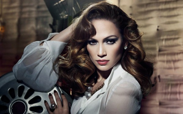 Jennifer Lopez Old Hollywood Glamour
