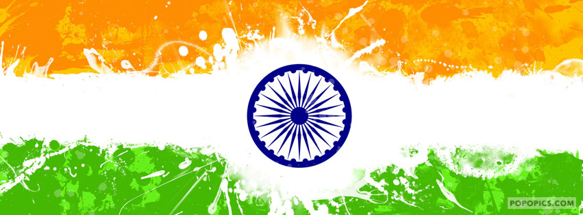 Indian Tiranga 3d Wallpaper Creative Indian Flag Fb Covers Facebook Cover Popopics Com