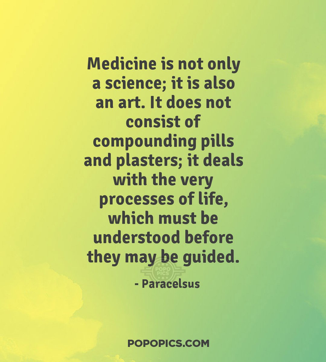 Truth Wallpapers With Quotes Medicine Is Not Only A Science It Is Also An Quotes