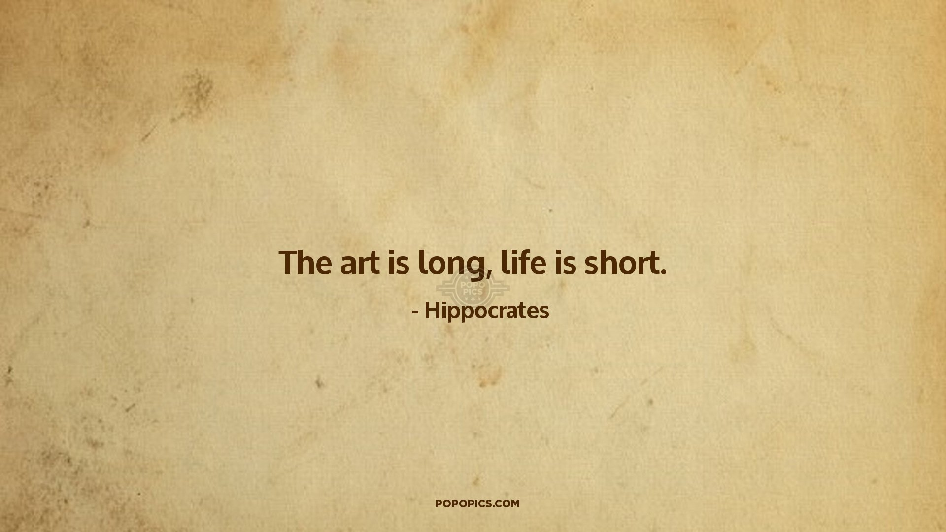 Download Motivational Quote Wallpapers The Art Is Long Life Is Short Quotes By Hippocrates