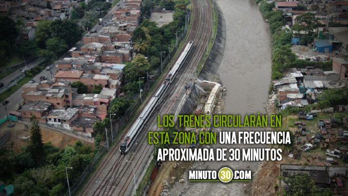 Línea A del Metro operará por una sola vía en el tramo Caribe-Niquía este 'finde'