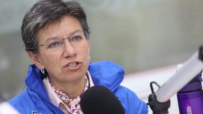 Fuerte reclamo de Claudia López al Gobierno por 9S