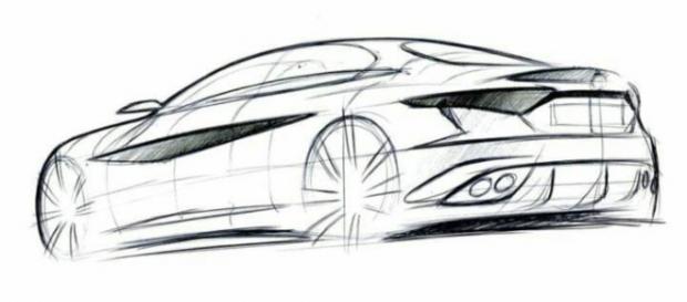 Alfa Romeo Giulia: lo schizzo da cui è nata