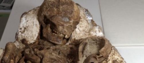 Incredibile Scoperta Archeologica Lamore Tra Madre E