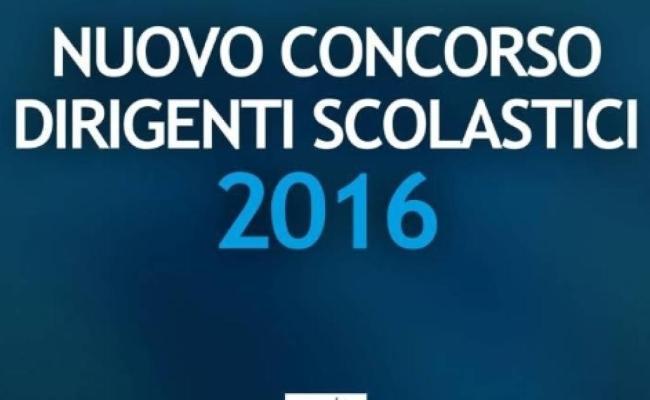 Concorso Dirigenti 2016 News 14 9 In Arrivo Il Decreto