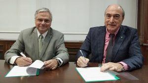 Acuerdo Facme-Cosce: Fernando Carballo y Nazario Martín